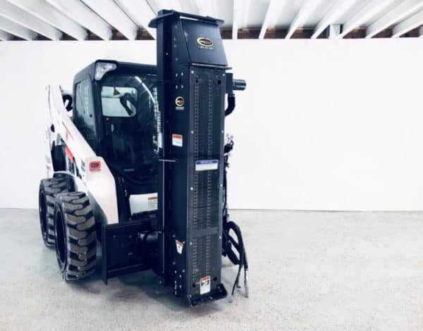 Post and Pipe Driver – Attachment for Skid Steer