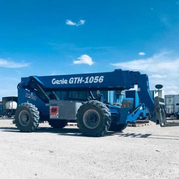 Rent a Genie 56' Telehandler 10,000 lb Capacity High Reach Telescopic Forklift