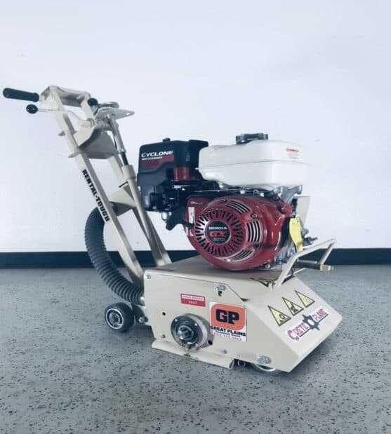 """Gas Operated 8"""" Concrete Planer Scarifier"""