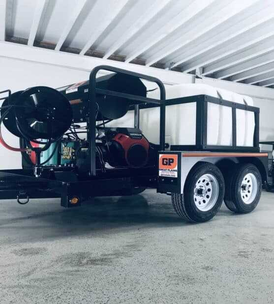 Towable Mobile Hot Pressure Washer System